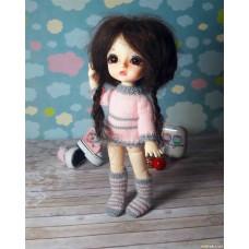 Комплект одежды для куклы bjd