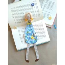 Закладка для книг и блокнотов Нежная мечтательница