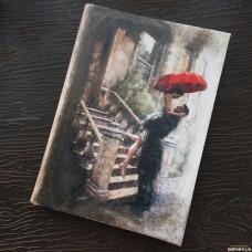 Блокнот Под дождем