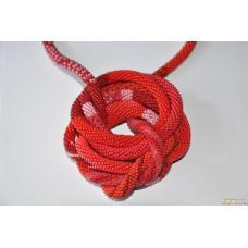 Колье - красный жгут-трансформер